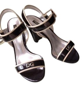 Dolce&Gabbana Black and White Sandals