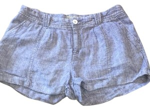 Free People Cuffed Shorts Blue