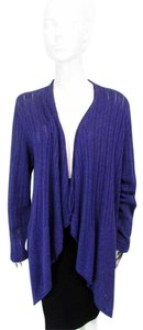 Eileen Fisher Long Open Cardigan Sweater