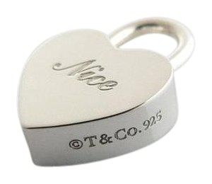 Tiffany & Co. Naughty Nice Heart Padlock Necklace