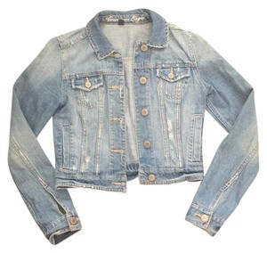 American Eagle Outfitters Light Denim Womens Jean Jacket