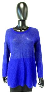 Eileen Fisher Blue Thin Knit Sweater