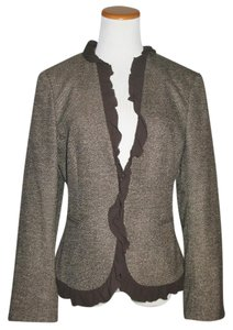 Michael Kors Silk Italian Brown Blazer