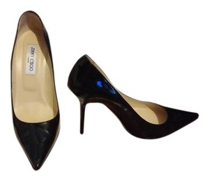 Jimmy Choo Agnes Stiletos Black Pumps