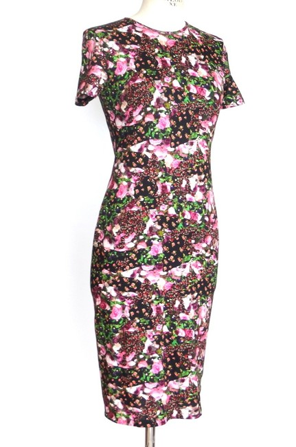 Givenchy Floral Bodycon 42 Dress Image 1