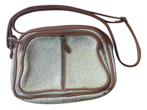 Valentina Vintage Leather Aging Casual Cross Body Bag