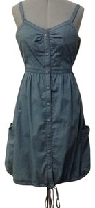 Zac Posen for Target short dress Light denim blue on Tradesy