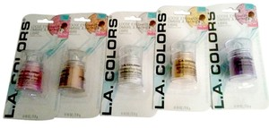 L.A. COLORS L.A. Colors SHIMMERING LOOSE Eye shadow OMBRE Set of 5 Powder Shadows new