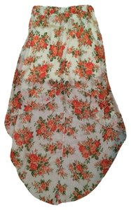 French Atmosphere Skirt Floral