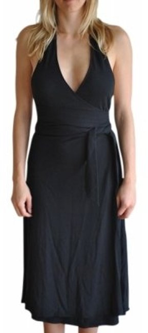 Preload https://item1.tradesy.com/images/theory-black-w-leather-neck-knee-length-cocktail-dress-size-4-s-18365-0-0.jpg?width=400&height=650
