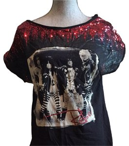Authentic Icon Motley Crue Rocker Graphic T Shirt