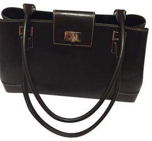 Lambertson Truex Satchel in Black