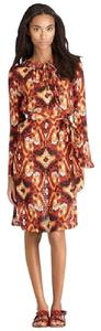 Tory Burch Diana Ikat Print Dress Dress