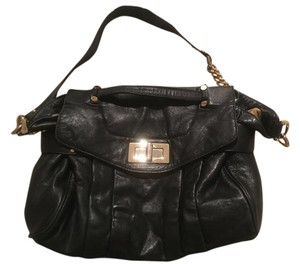 Be&D Leather Carryall Shoulder Bag
