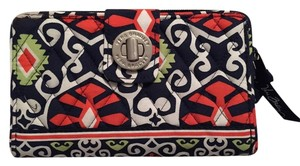 Vera Bradley Turn Lock Wallet Sun Valley