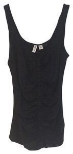 Esprit Modal Ruched Grosgrain Top Black