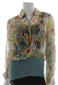 Jean-Paul Gaultier Top Floral, multi