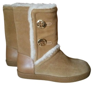 Tory Burch tan Boots