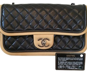 Chanel Two Tone Shoulder Bag
