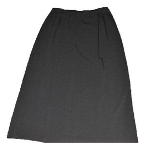 Chico's Travels Great Slimming After 5 Or Work Maxi Skirt Black