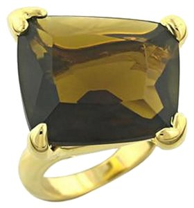 Other Brown Topaz Cubic Zirconia Ring