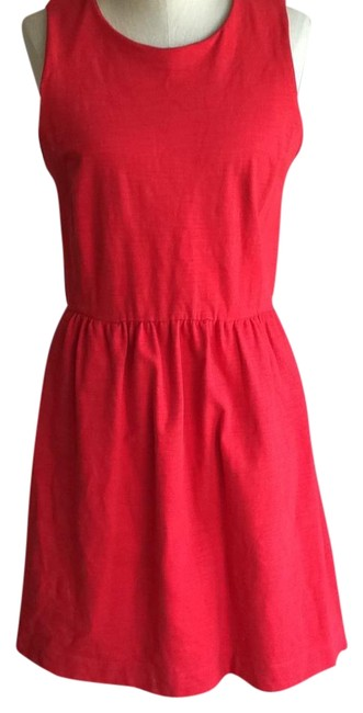 Preload https://item3.tradesy.com/images/madewell-red-afternoon-above-knee-short-casual-dress-size-12-l-18369112-0-1.jpg?width=400&height=650