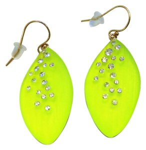 Alexis Bittar Neon earrings