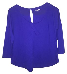 American Eagle Outfitters Top Royal Blue