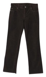 J.Crew Cord Corduroy Boot Cut Pants Brown