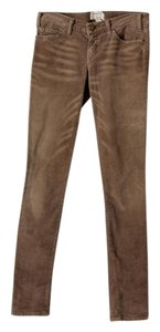 Current/Elliott Corduroy Skinny Skinny Pants Tan