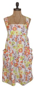Lux short dress FLORAL Summer Print on Tradesy