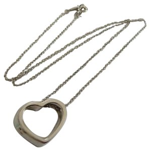 Tiffany & Co. paloma picasso geometric heart AND chain