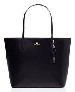 Kate Spade New With Tags Leather New Tote in Black