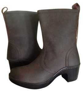 Ariat Leather Zip Espresso Boots