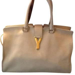 Saint Laurent Satchel in Tan/Beige