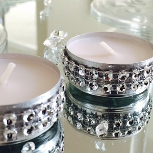 50 Dazzling Tea Lights - Wedding And Event Decor