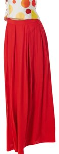 H&M Maxi Maxi Maxi Skirt red
