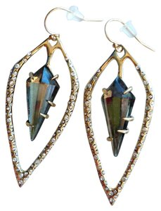 Alexis Bittar Labrodite pierced earrings