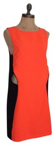 Stylestalker Where The Party At Color-blocking Cutaway Cut-out Dress