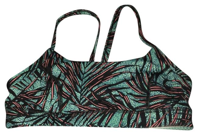 Item - Banana Leaf Rise and Run Activewear Sports Bra Size 8 (M, 29, 30)