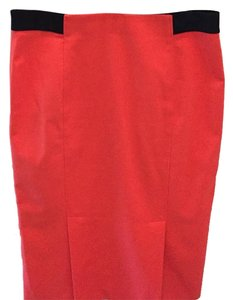 Les Copains Skirt Coral/Red 0435
