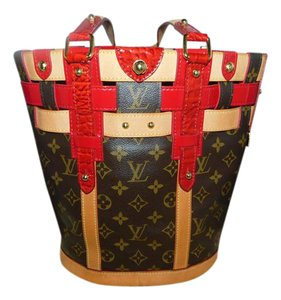 Louis Vuitton Satchel in Monogram/Brown