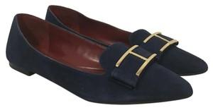 Tommy Hilfiger Blue, Gold Flats