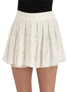 Alice + Olivia Mini Skirt White