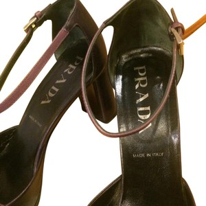 Prada Purple & violet straps Formal