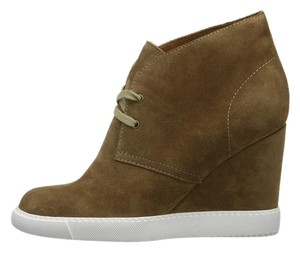 See by Chloé Wedge Sneaker Leather Sneakers Leather Ankle Brown Boots