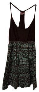 Roxy short dress Tribal Tribal Print Colorblock on Tradesy