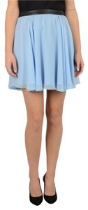 Alice + Olivia Mini Skirt Riviera Blue