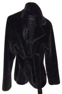 Moda International Faux Fur Pea Coat