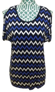 Michael Kors T Shirt Blue, Black, White